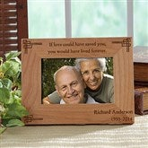Never Forgotten Personalized Memorial Frame- 4x6 - 8247