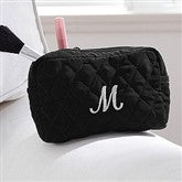 Embroidered Quilted Make-Up Bag - 8250-M