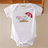 Beach Babe Personalized Baby Bodysuit - 8277-BB