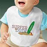 Surfer Dude Personalized Bib - 8278-BIB