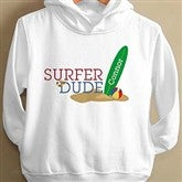 Surfer Dude Toddler Hooded Sweatshirt - 8278-THS