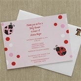 Little Love Bug Baby Shower Invitations - 8288