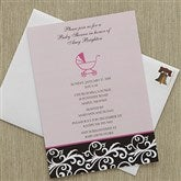 Little Darling Baby Shower Invitations - 8293
