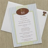 It's A Boy! Baby Shower Invitations - 8294
