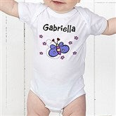 You Choose Personalized Colored Baby Bodysuit - 8297-CBB