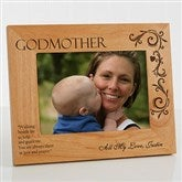 Godparent Personalized Photo Frame- 5 x 7 - 8299-M