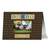 Just For Him Personalized Greeting Card - 8391