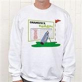 His Favorite Caddies Adult Sweatshirt - 8396-S