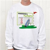 His Favorite Caddies Adult Sweatshirt - 8396-S