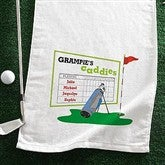 His  Favorite Caddies Golf Towel - 8396-G