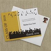 Hats Are Off Custom Thank You Cards - 8405