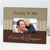 Daddy & Me Personalized Frame - 8428