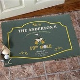 19th Hole Personalized Doormat - 8441