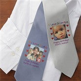 Personalized Photo Message Men's Tie - 8467