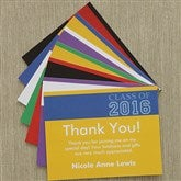 Academic Adventures Custom Thank You Cards - 8495