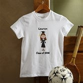 Graduation Characters© Personalized Youth T-shirt - 8587