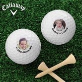 Picture Perfect Personalized Golf Ball Set- Callaway® Warbird Plus - 8593-CW