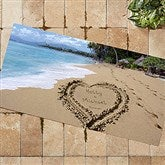 Our Paradise Island Personalized Oversized Doormat - 8608-O
