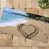 Our Paradise Island Personalized Oversized Doormat- 24x48 - 8608-O