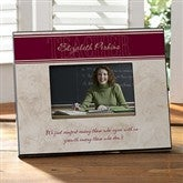 Inspiring Teacher Personalized Frame - 8627