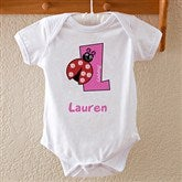 Girl Alphabet Animals Baby Bodysuit - 8635-BB