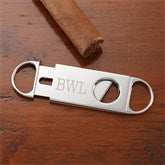 Engraved Silver Cigar Cutter - 8655-C