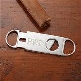 Engraved Silver Cigar Cutter - 8655-C