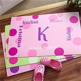 That's My Name Girls Personalized Room Mat - 8672