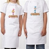 Junior Chef Character Personalized Kid's Apron