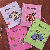 You Choose Personalized Large Notebooks For Girls-Set of 2 - 8713