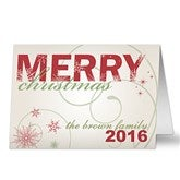 Merry Christmas Christmas Cards - 8765