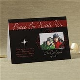Peace Be With You Photo Christmas Cards - 8786