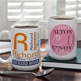 Personally Yours Personalized Coffee Mug- 15 oz. - 8796-L
