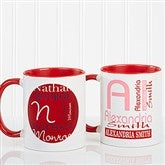 Personally Yours Personalized Coffee Mug 11oz.- Red - 8796-R