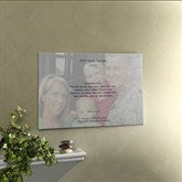 Military Photo Sentiments Personalized Canvas Art 12x18 - 8924-S