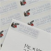 Writing In The Snow Return Address Labels - 8981