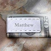 LaSalle Collection Engraved Money Clip- Name - 8990-N