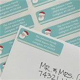Santa's List Return Address Labels - 9051
