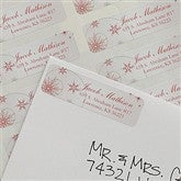 Merry Christmas Return Address Labels - 9052