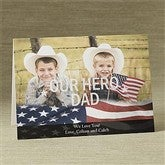 Stars and Stripes Photo Greeting Card - 9070-H