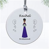 Wedding Party Characters© Personalized Ornament - 9083