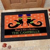 Stop In For A Scare Personalized Doormat- 20x35 - 9095-M
