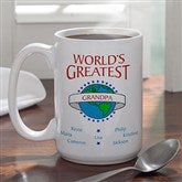 World's Greatest Ceramic Coffee Mug- 15 oz. - 9124U-L