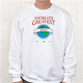 World's Greatest Personalized Adult Sweatshirt - 9124S