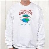 World's Greatest Personalized Adult Sweatshirt - 9124S