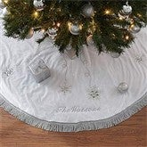 Season's Sparkle Embroidered Tree Skirt - 9140