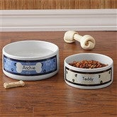 Throw Me A Bone Personalized Dog Bowl - Large - 9159-L