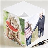 You Picture It Custom Paper Note Cube-4 Photos - 9160-4
