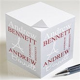 Personally Yours Custom Paper Note Cube - 9162
