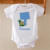 Boy Alphabet Animals Baby Bodysuit - 9216-BB
